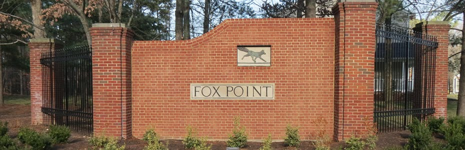 Fox Point Entrance